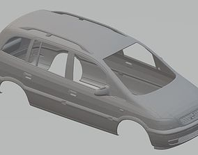 Opel Zafira Printable Body Car