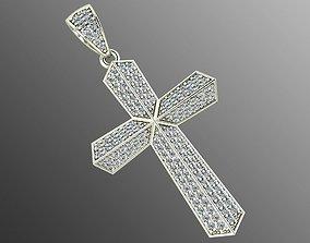 Pendant od 4 cross 3d-pendant-cross 3D printable model
