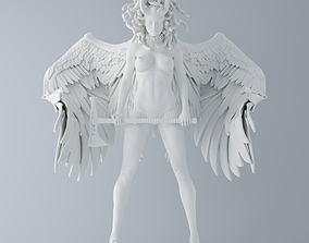 3D printable model Evil Medusa Warrior