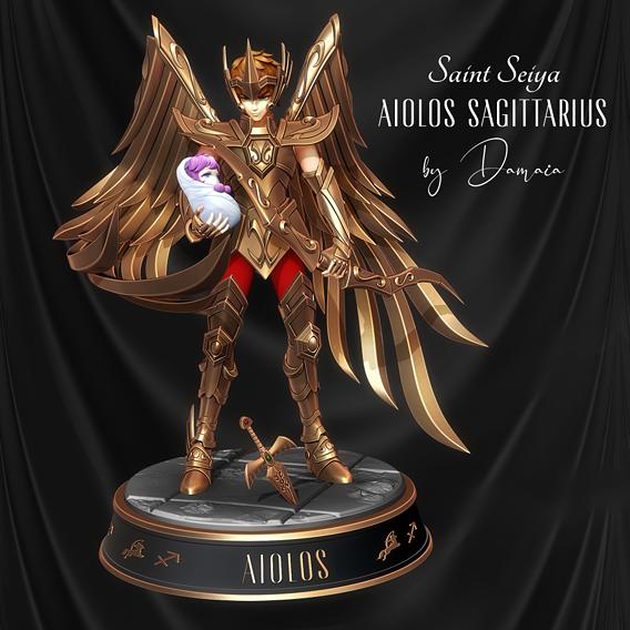 Saint Seiya: Aiolos / Sagittarius