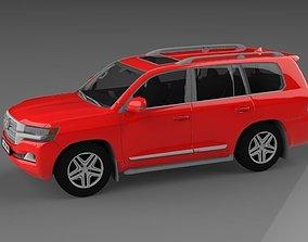 3D model Land Cruiser