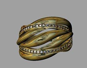 engagement-ring 3D printable model Fashion Women Ring