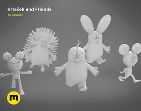 games Krtek and his friends - 3D PRINT MODEL