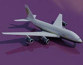 Airbus A380 Miami Air 3D model