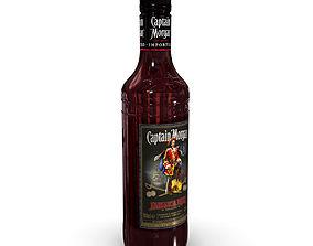 Captain Morgan Jamaica Rum 50cl Bottle 3D