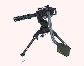 Modern Minigun 3D asset