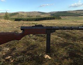 Suomi-konepistooli 3D asset