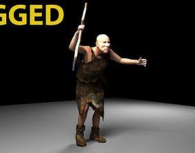 neanderthal man 3D