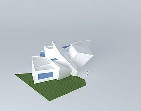 3D model exhibition space
