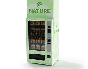 3D model Natural Snack Vending Machine