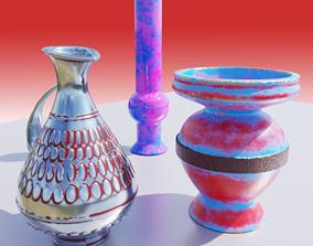 Vase Collection 3D model