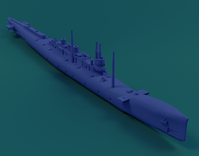 3D print model HMS K-class submarine 1913