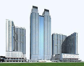 Hotel Building 3D building