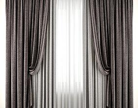 3D model Curtain 90