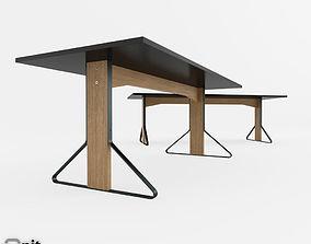 3D model Artek Reb 001-002 Kaari Table