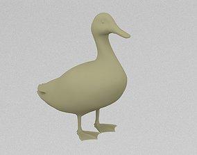 Poultry Duck 3D printable model