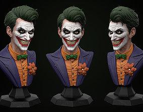 Joker bust 3D print model