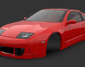3D asset Twin Z Design widebody kit for Nissan Fairlady 1