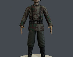 3D model German Soldier