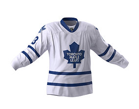 Hockey Jersey Toronto Maple Leafs 3D model