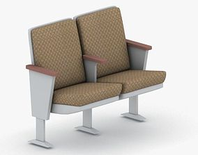 3D model 0880 - Theater Seating