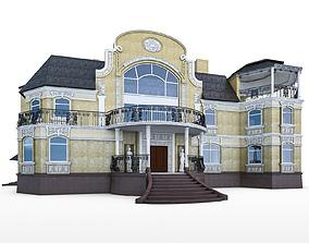 3D asset Luxury Mansion