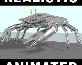 Robot Crab - 3d model animated