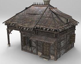 Medieval house fantasy 04 3D model
