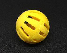Erratic Cat Ball 3D print model