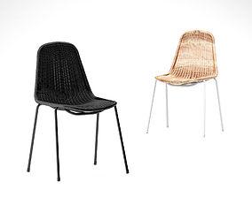 Feelgood designs Basket outdoor chair 3D model
