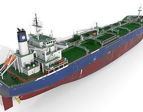 Oil Products Tanker 3D model tanker