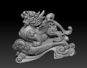3D printable model dragon fantasy