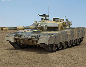 3D model Al-Khalid MBT-2000