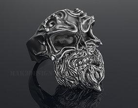 Ring Skull Smoker 3D print model