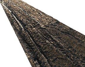 Dirt road material 05 3D asset