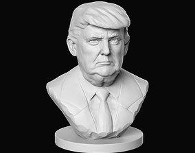 3D print model Donald Trump sculpture