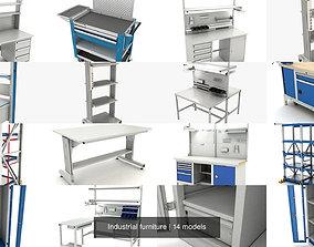 Industrial furniture 3D