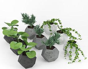 3D model Concrete Plant 03