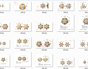 88 nose pins nosepins cad 3dm stl details print