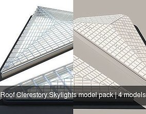 Roof Clerestory Skylights model pack