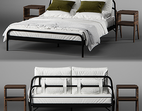 3D Loopa bed by MADE