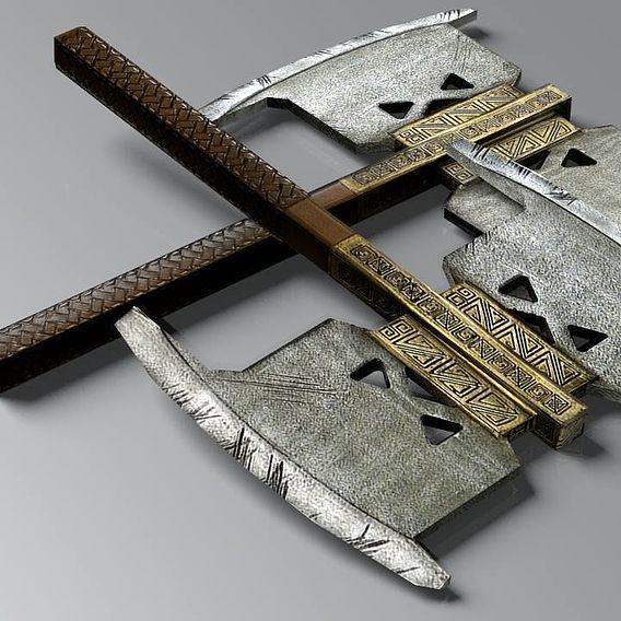 Lord of the Rings Dwarven Axe, Gimli's Axe