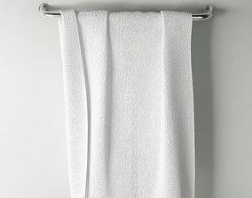 3D model displace Towel