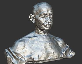Gandhi by Ram Sutar 3DP