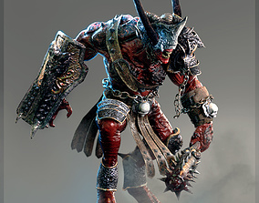 3D Heavy Demon