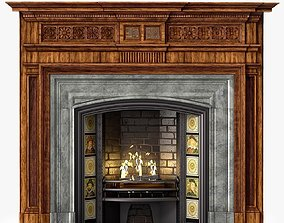 Westland Chimneypieces Victorian Stock No 13248 3D asset