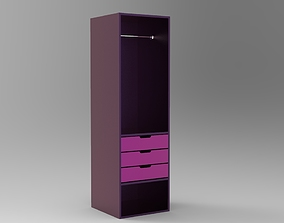 3D print model Wardrobe 4