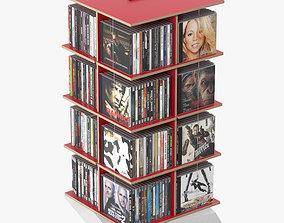 3D Shelf Musikstapler