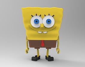 3D printable model Sponge Bob