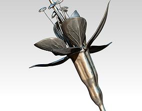 3D printable model Fuchsia flower